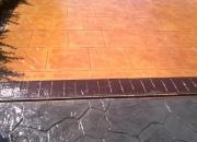 Pavimento de hormigon impreso