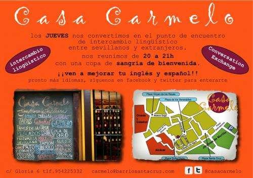 Casa carmelo - intercambio lingüístico