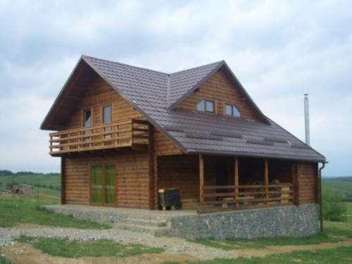 Top casas de madera pictures wallpapers - Porches de casas ...
