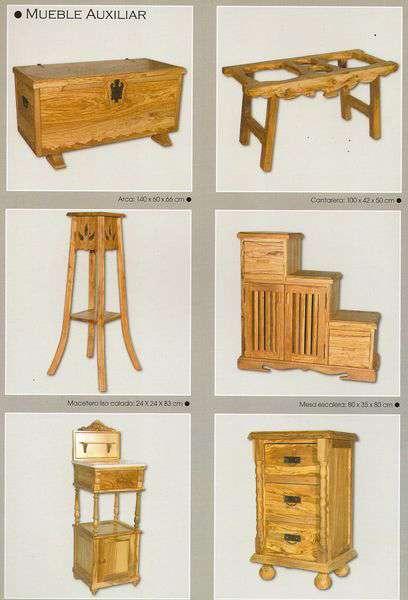 Fotos de muebles rusticos a medida de todo tipo de maderas - Fotos muebles rusticos ...