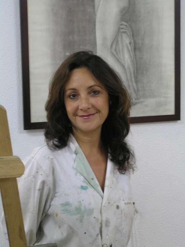 Clases pintura sevilla. estudio de lola carmona