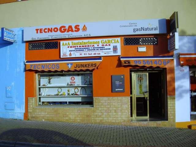 Instalaciones garcia*tecnogas* empresa instaladora de gas y fontaneria .autorizada