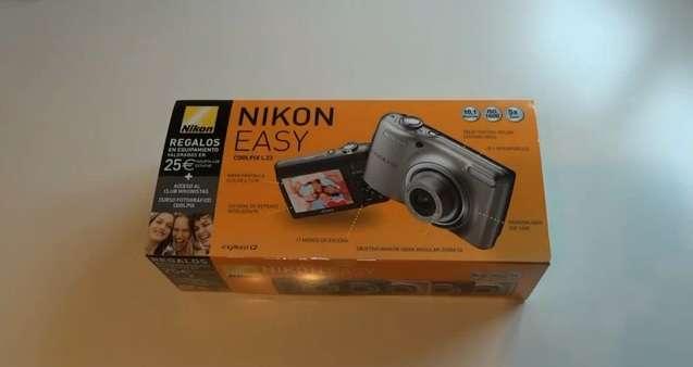Camara de fotos nikon coolpix l23 10mpx