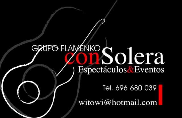 Grupo flamenco consolera todo tipo de eventos