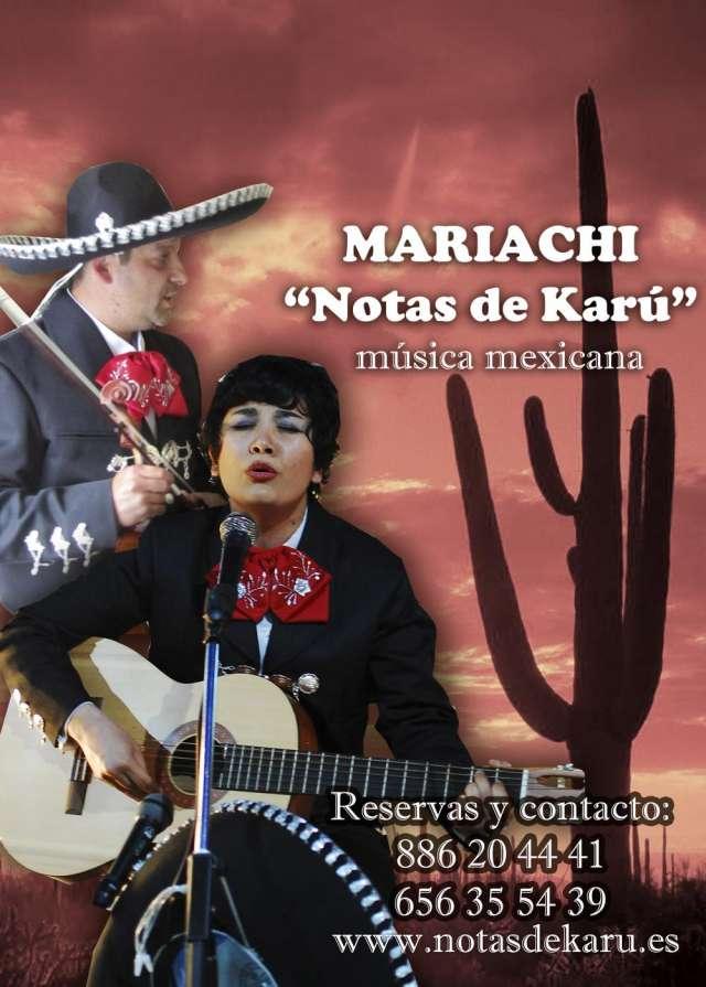 Mariachi notas de karú, lo mejor de la música mexicana para tus eventos y fiestas