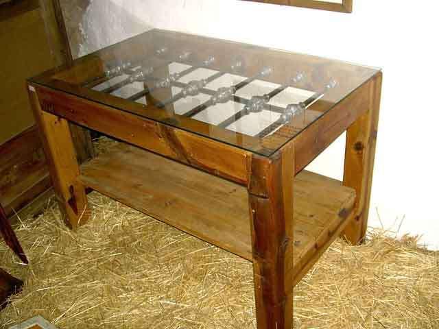 Mesas con material reciclado,estilo tradicional. en Jaén - Joyas ...