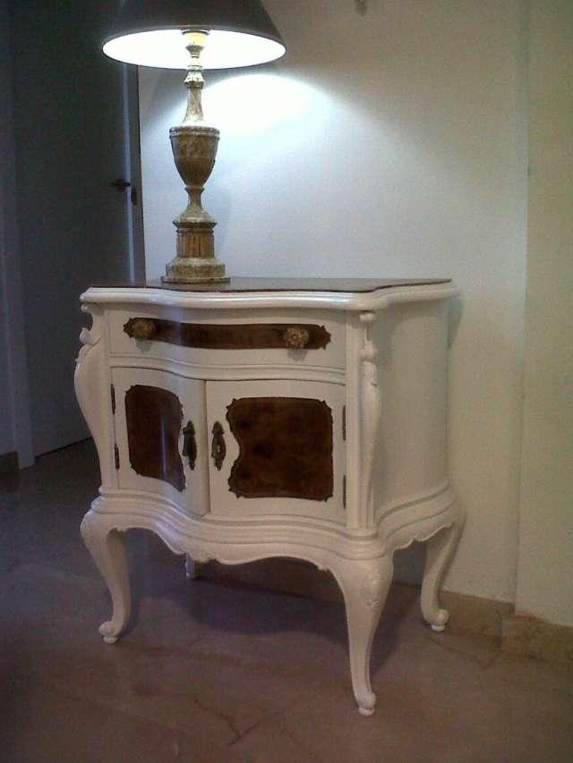 Muebles antiguos restaurados en blanco muebles antiguos - Muebles antiguos restaurados ...
