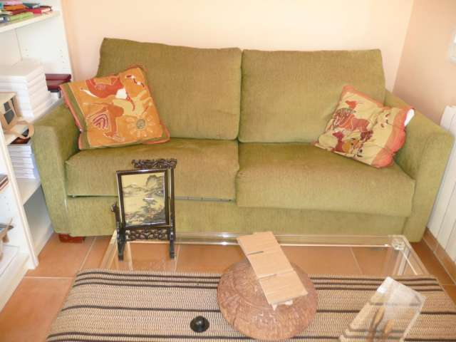 Vendo muebles varios por mudanza: mesa, sofá, sofá cama, librería ...
