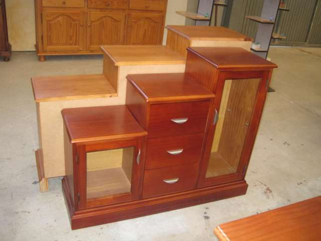 Muebles auxiliares para bano madera for Mueble auxiliar exterior