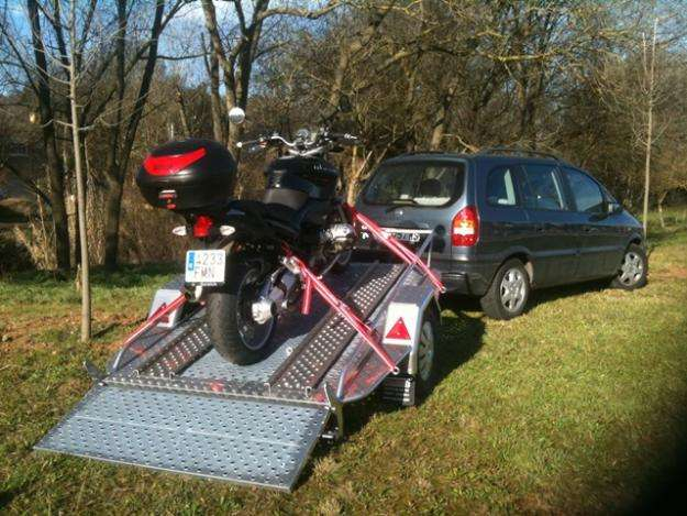 Thalman,remolques de aluminio para motos grandes