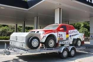 Remolques porta coches de aluminio , ligeros y resistentes. thalman