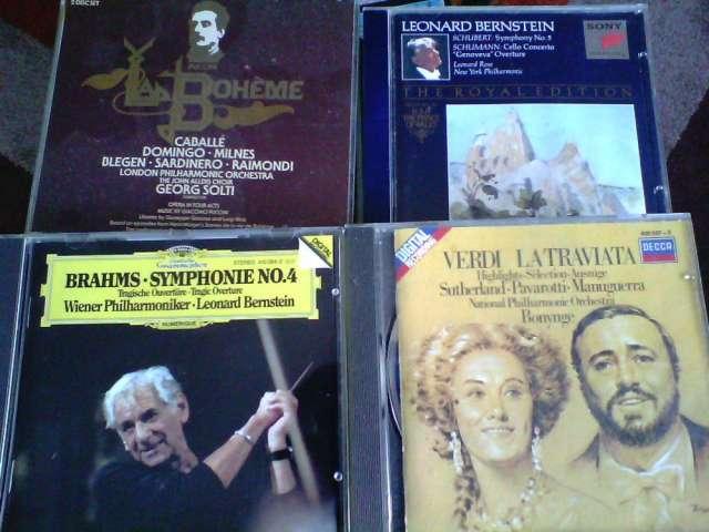 Venta de cds de musica clasica y operas