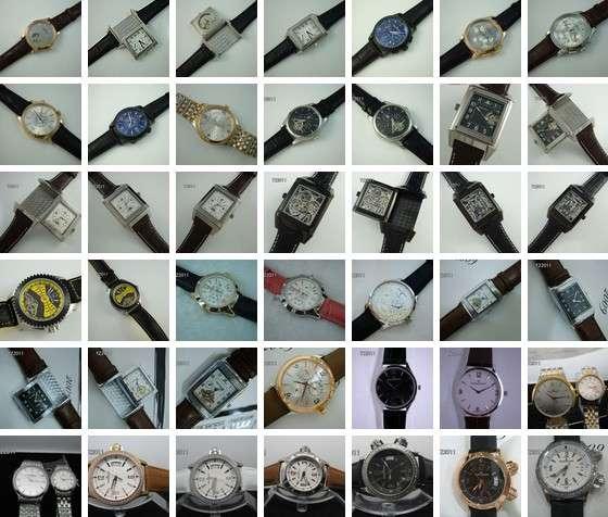 Las ventas en línea de relojes de marca de alta gama