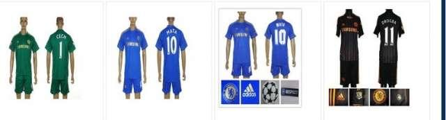 Chelsea camiseta de fútbol / envío gratis /