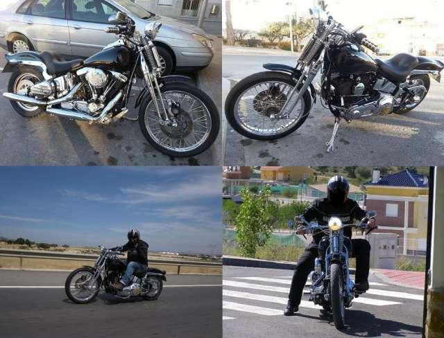 Harley davidson softail springer 1340cc del año 1994