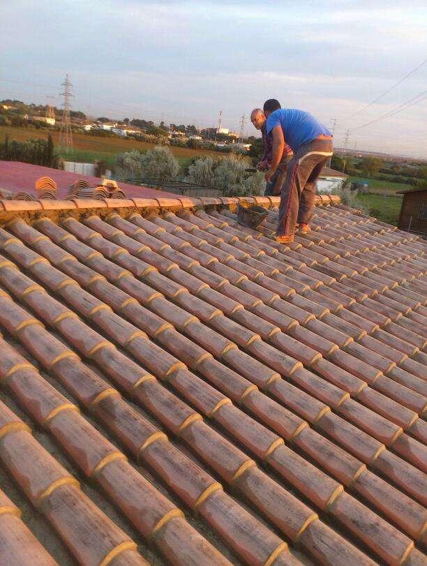Respomsables tejeros de arcos colocacion toda clase de tejas