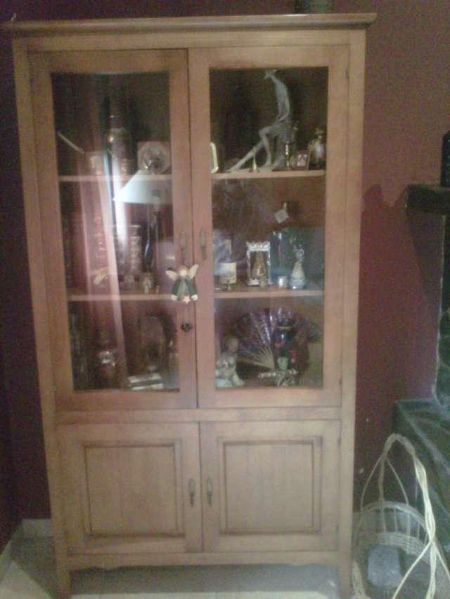 Vendo muebles rústicos rústicos de salón