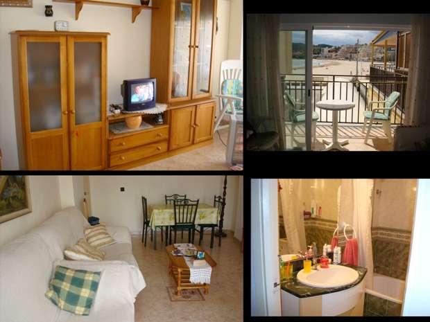 Precioso y barato apartamento primera linea de la playa