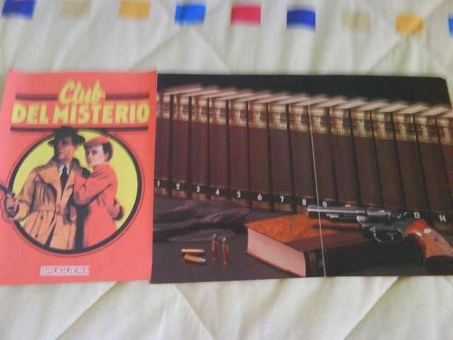 """Vendo la coleccion de """"el club del misterio"""""""