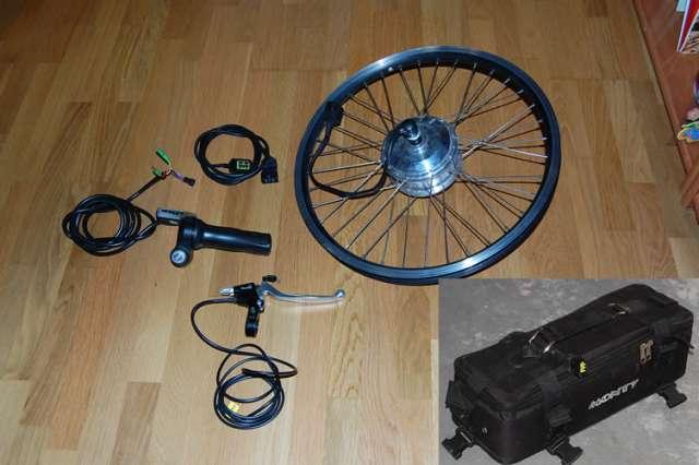 Vendo motor y batería para bici