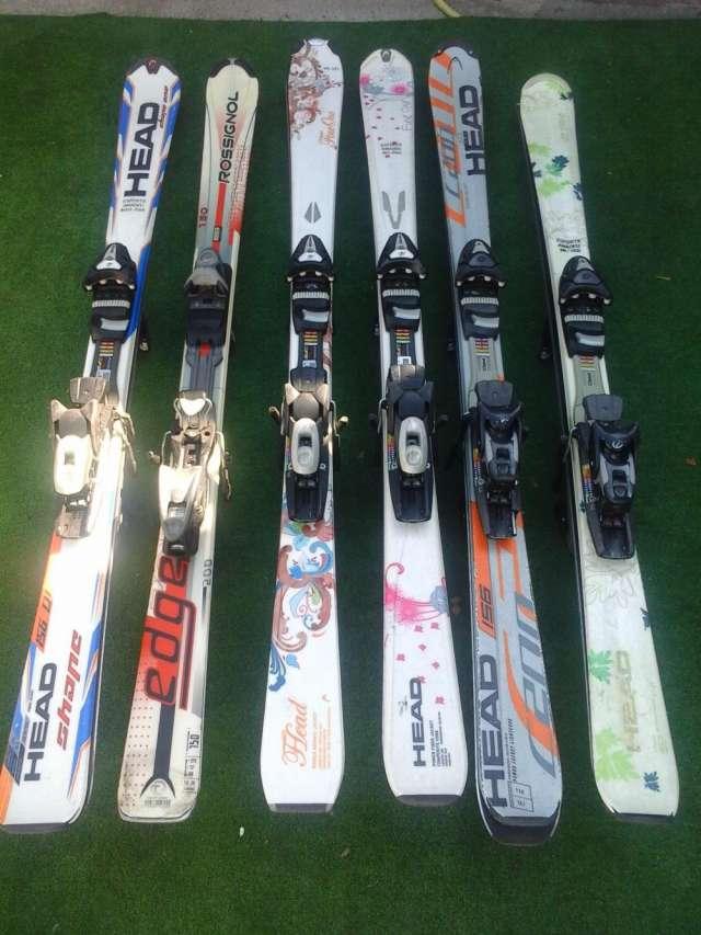 Venta skis y botas seminuevas