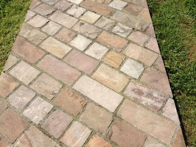Precio adoquines de piedra sin imagen with precio for Adoquines para jardin precio
