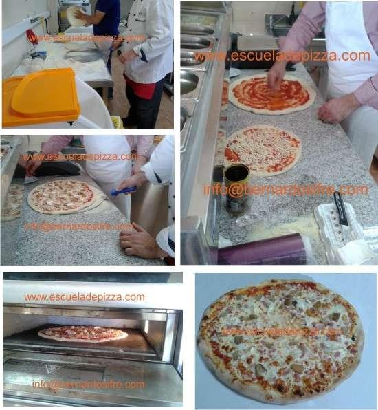 Curso pizzero profesional, escuela nacional de pizza, formacion pizzaiolos
