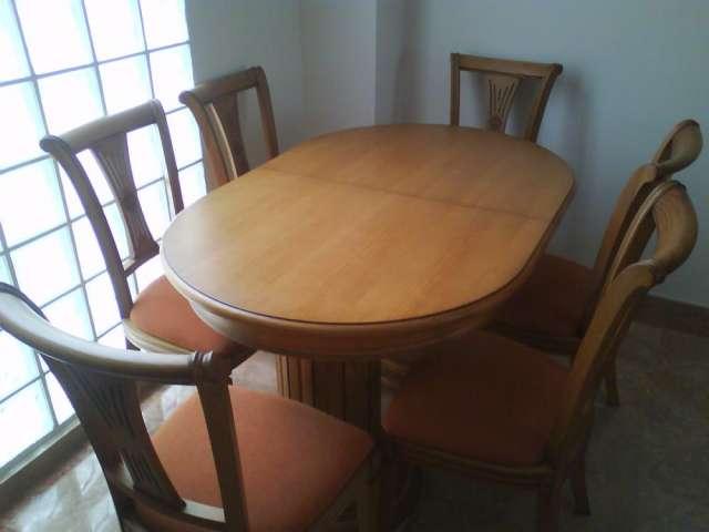 Oportunidad! muebles de comedor tallados