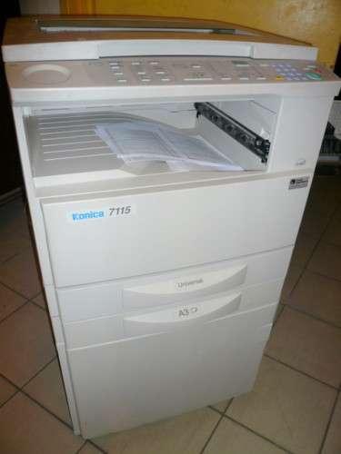 Fotocopiadora digital konica 7115 a4 y a3 de gran fiabilidad