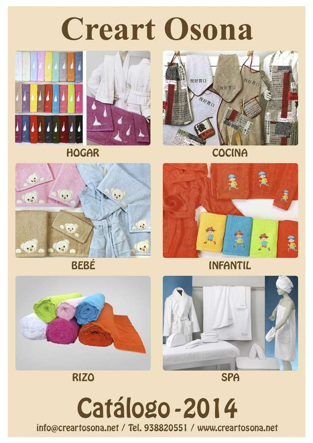 Colección textil de cocina 2014