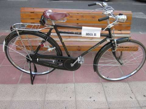 Bicicleta antigua replica vendo