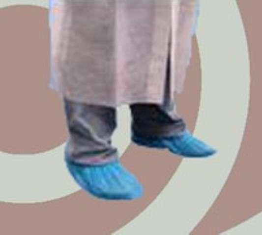 Cubrezapatos desechables para industrias