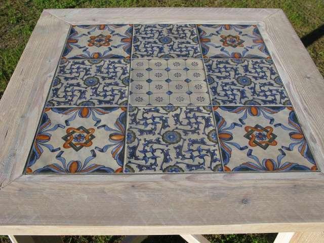 mesas de azulejos dise os arquitect nicos