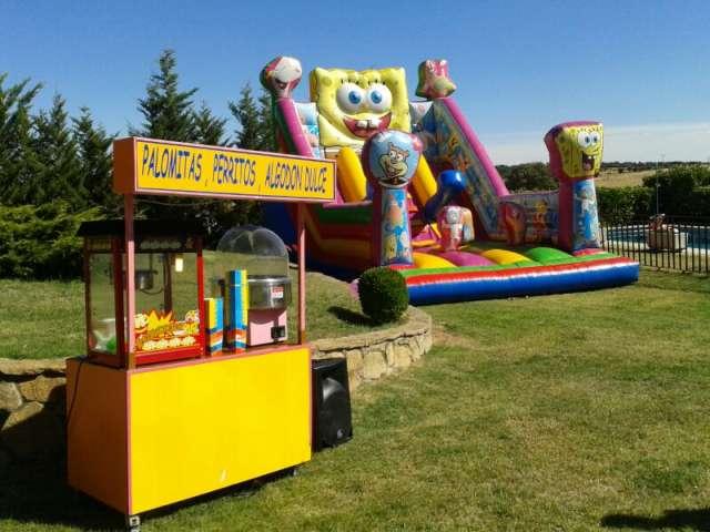 Alquilar castillo hinchable para fiestas