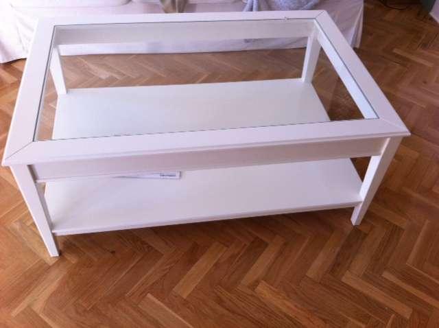 Mesa de centro elevable y extensible ikea best cmo hacer for Mesa salon blanca