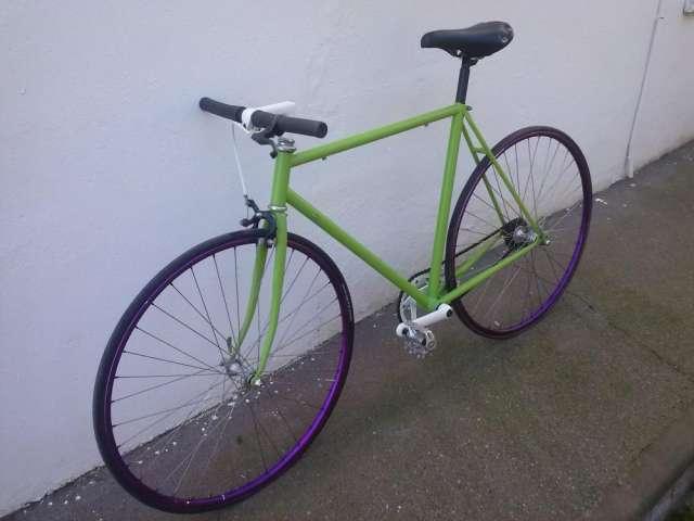 Bicicleta fixie polo&bike
