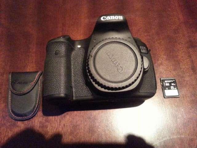 Canon eos 60d 18.0 mp cámara digital slr - negro