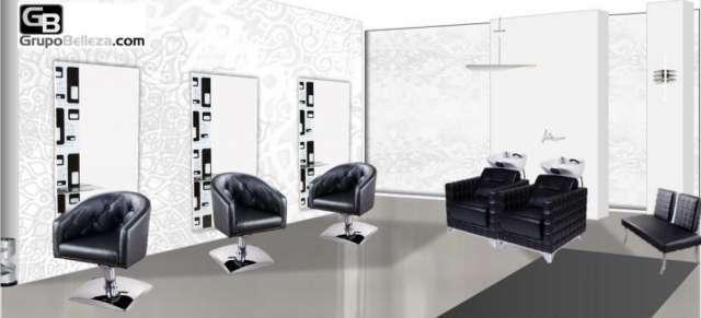 Mobiliario de peluquería completa 1840?, lavacabezas a 450?
