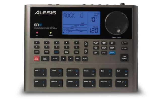 Alesis sr-18 caja de ritmos