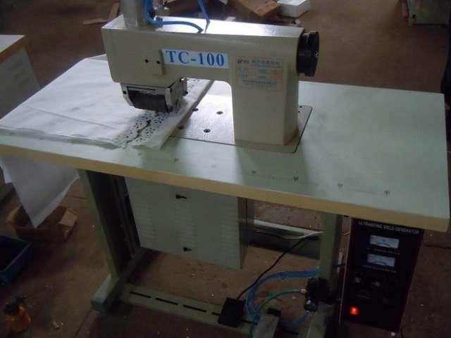 Máquina de coser por ultrasonidos