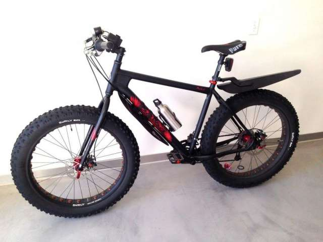 "Salsa mukluk 2 bicycle bike 21"" xl"