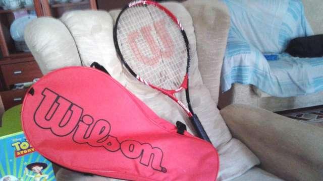 Raqueta tenis roger federer oficial wilson
