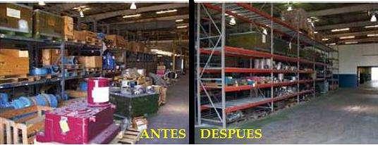 Empresa de reparaciones en naves industriales y locales comerciales.