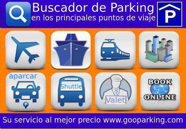 Buscador de parking en los principales puntos de viaje