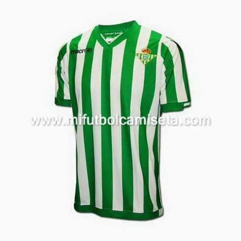 Equipacion camisetas del real betis 2014-2015