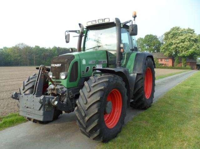 Tractor fendt 818 vario tms