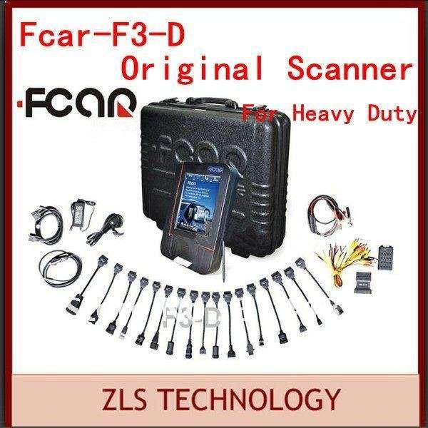 Software original diesel de camiones herramienta de diagnóstico f3-d heavy duty coche herramienta de diagnóstico y camiones
