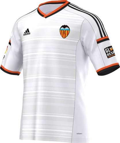 Camiseta valencia 2015,equipacion valencia 2015