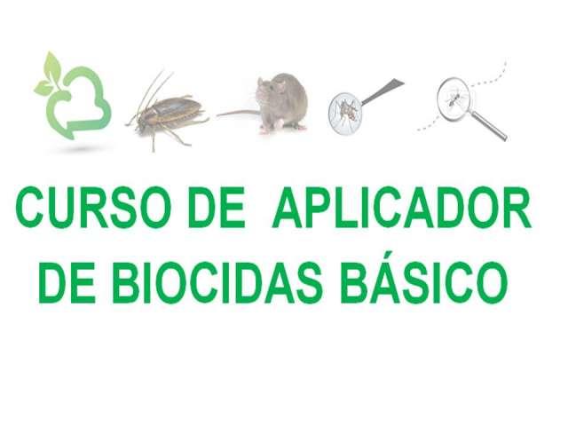 Curso de aplicador de biocidas de nivel básico.