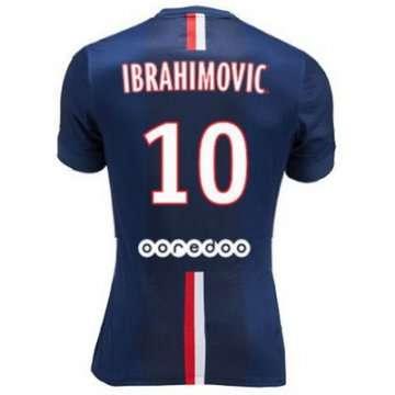 La camiseta ibrahimovic psg primera 2014-2015